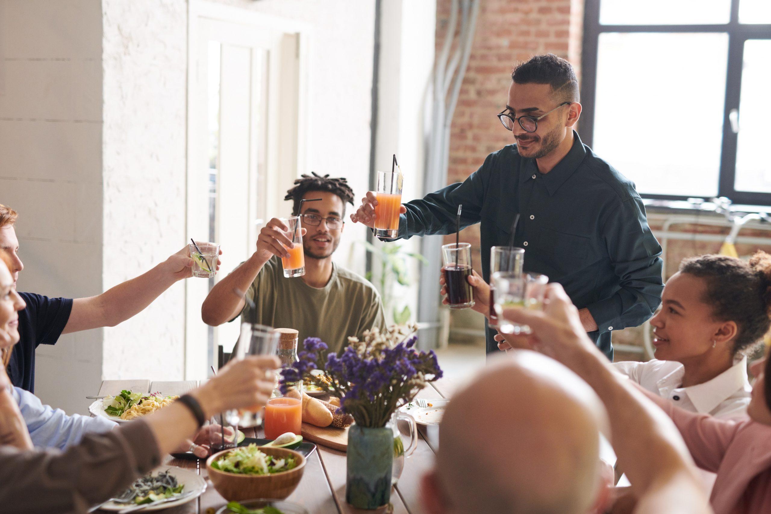 Practice gratitude on thanksgiving